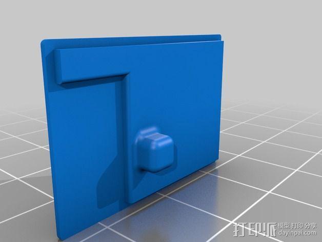 RX PPM接收机外壳 3D模型  图3