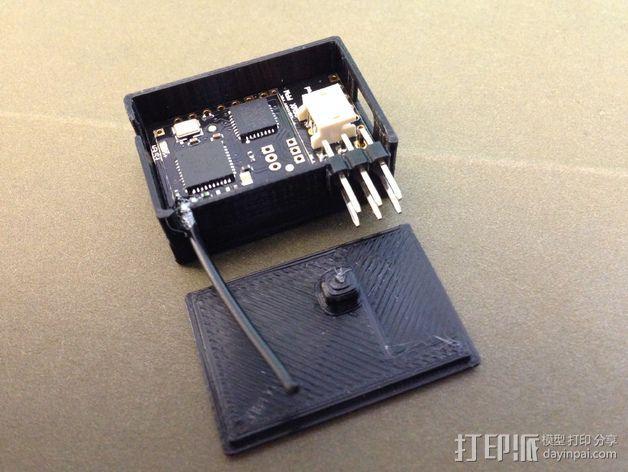 RX PPM接收机外壳 3D模型  图4