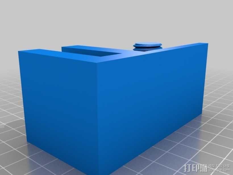 小号 弱音器支架 3D模型  图1