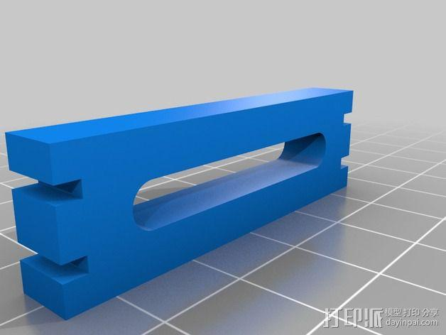 FunCub 马达架 3D模型  图2