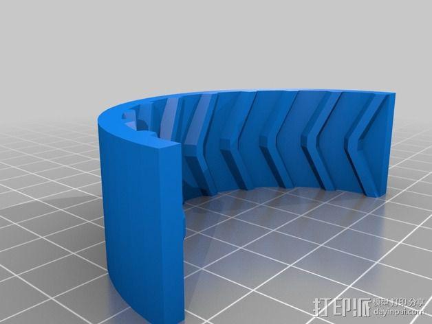遥控赛车 车轮模具 3D模型  图7