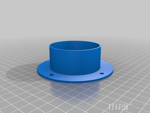 PVC管 3D模型  图1