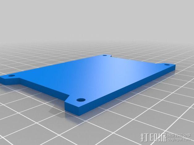 GoPro相机外壳 3D模型  图3