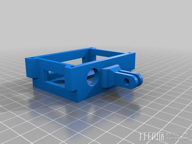 GoPro相机外壳 3D模型  图2