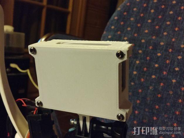 GoPro相机外壳 3D模型  图4