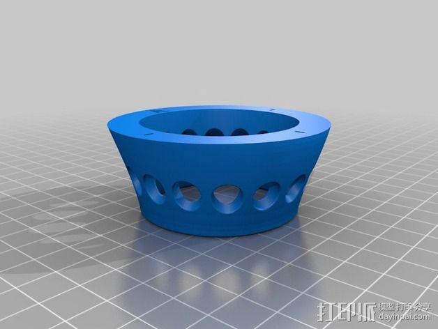 RVJET微调器外壳 3D模型  图2