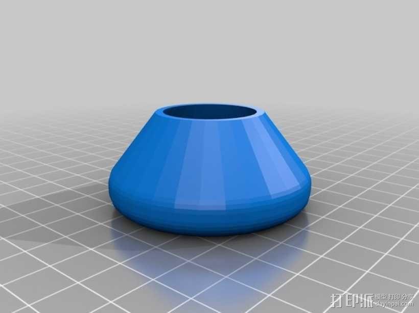 Brompton专业折叠自行车 轮胎 3D模型  图2