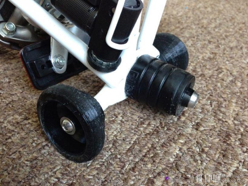 Brompton专业折叠自行车 轮胎 3D模型  图4