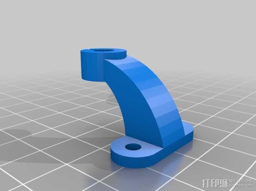 天线支架 3D模型  图2