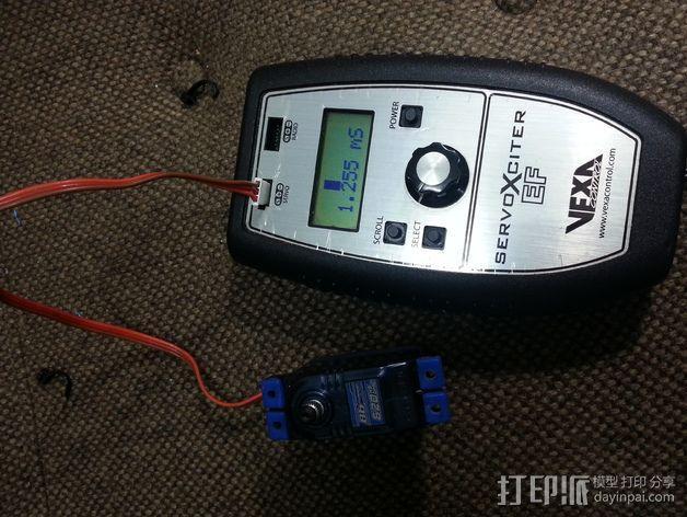 电池配适器 3D模型  图4