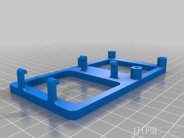 FRDM-KL25Z电路板底座 3D模型  图2