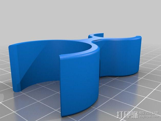 Graziella自行车 打气筒架 3D模型  图10