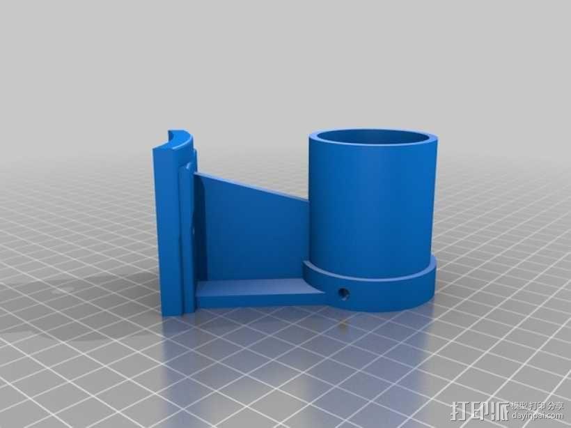 反射式望远镜支架 3D模型  图1