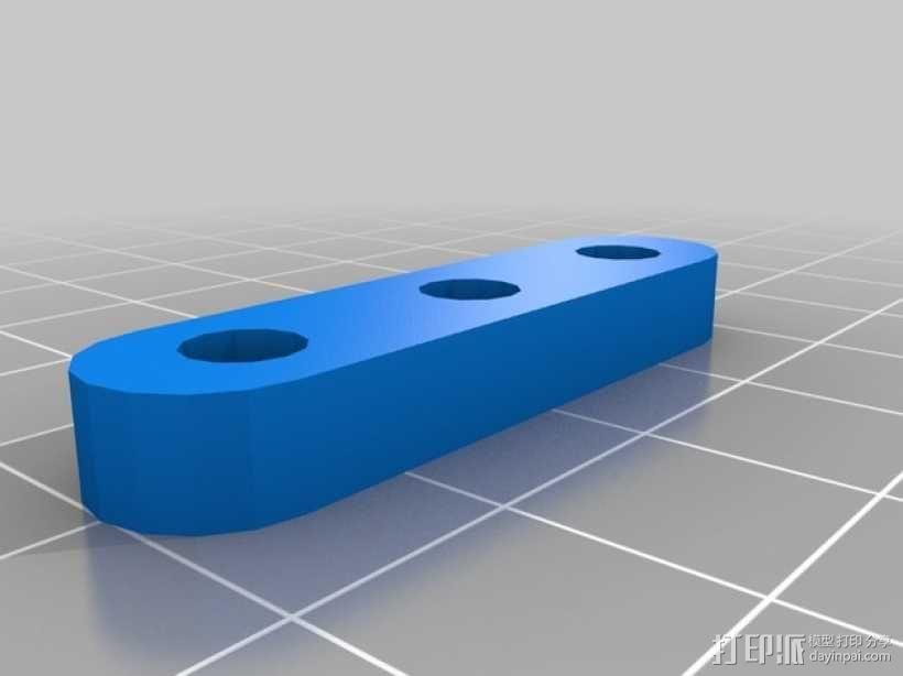 牵绳 张紧器  3D模型  图1