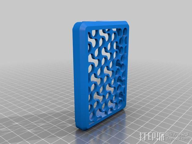 Shapeoko 2马达驱动 外壳 3D模型  图2