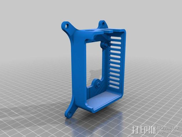 Shapeoko 2马达驱动 外壳 3D模型  图3