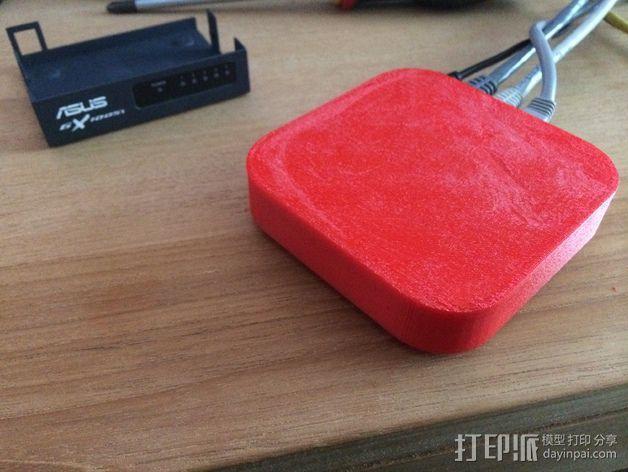 苹果电视外壳 3D模型  图1