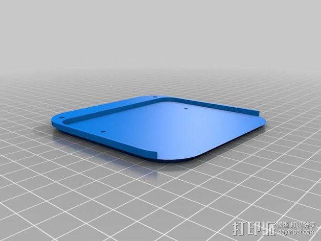 苹果电视外壳 3D模型  图2