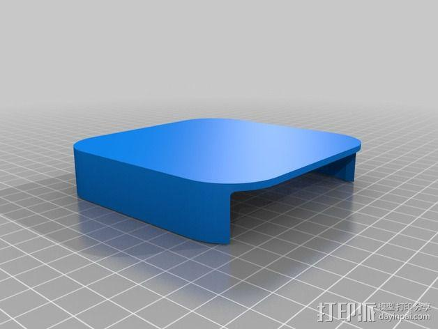 苹果电视外壳 3D模型  图3