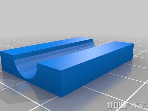 Hubsan X4多轴飞行器 相机支架 3D模型  图3