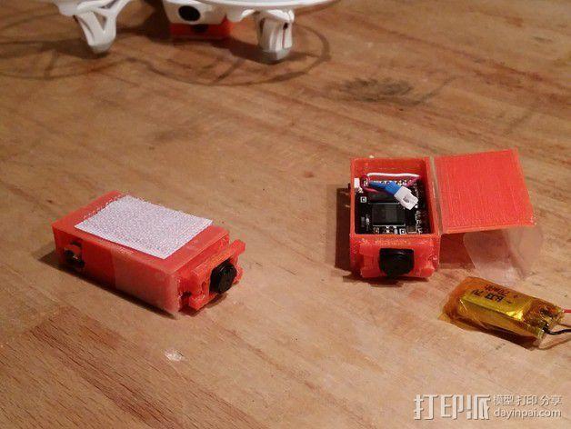 Hubsan X4多轴飞行器 相机支架 3D模型  图5