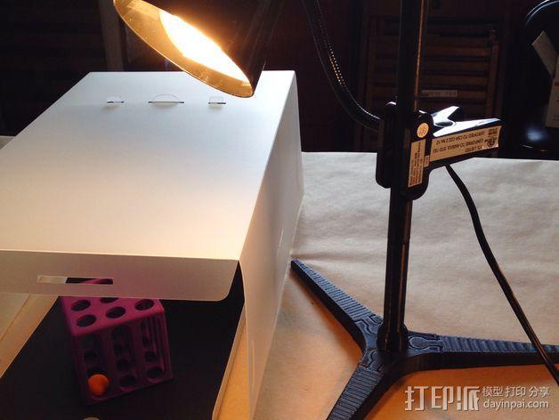 台灯固定夹 3D模型  图1