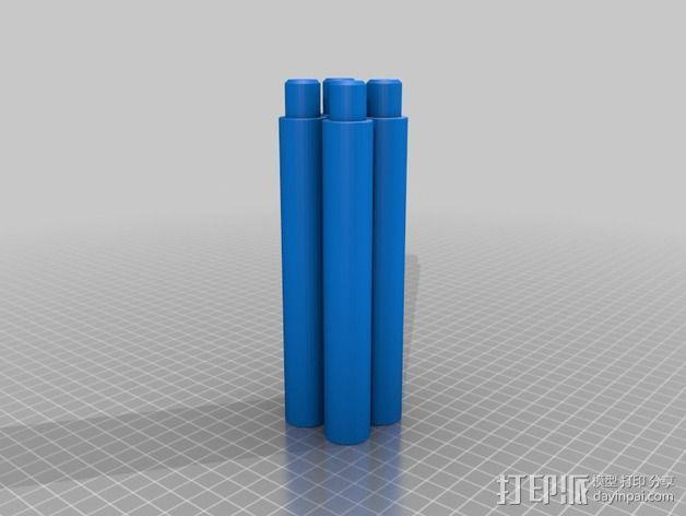 台灯固定夹 3D模型  图3