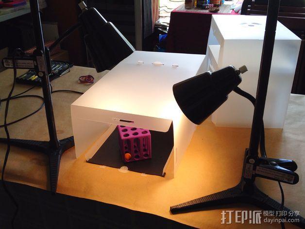 台灯固定夹 3D模型  图7