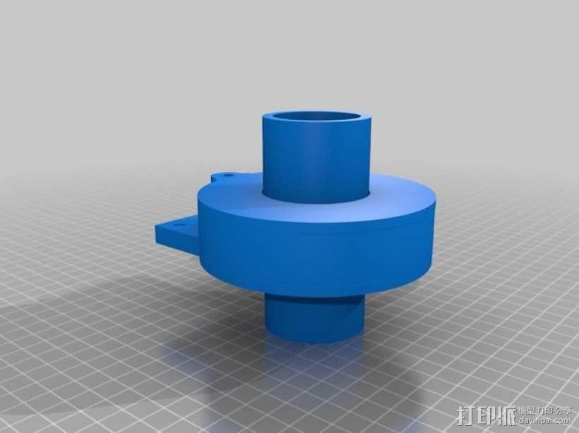 Nemma 17步进电机 双接头  3D模型  图1