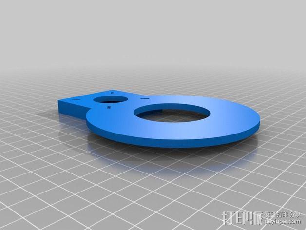 Nemma 17步进电机 双接头  3D模型  图2