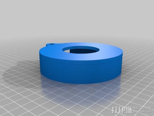 Nemma 17步进电机 双接头  3D模型  图3