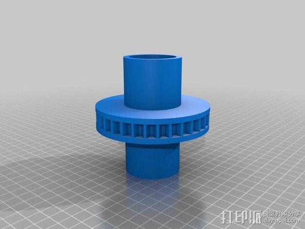 Nemma 17步进电机 双接头  3D模型  图4
