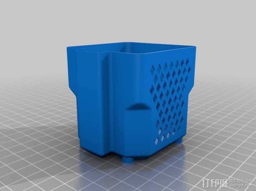 NEMA23步进电机 外壳 3D模型  图3