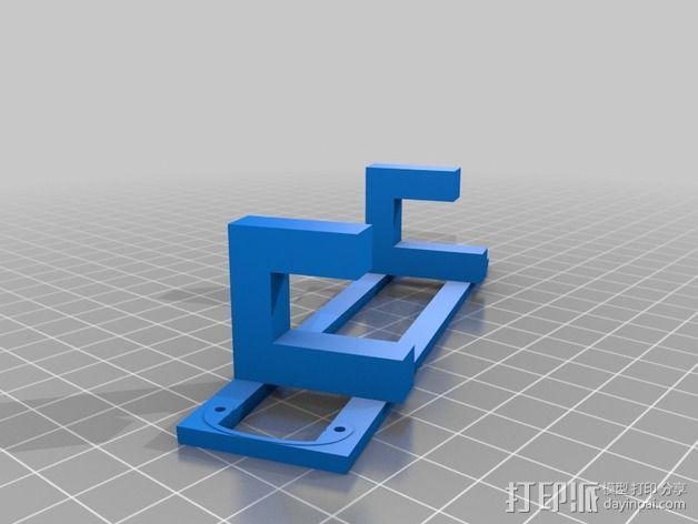 Macbook Air的结构传感器固定架 3D模型  图2
