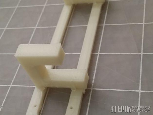 Macbook Air的结构传感器固定架 3D模型  图4