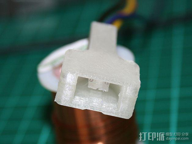 Wii Nunchuck配适器接口 3D模型  图7