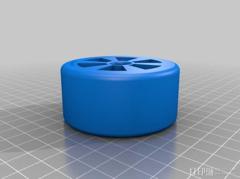 遥控赛车 车轮 3D模型  图1