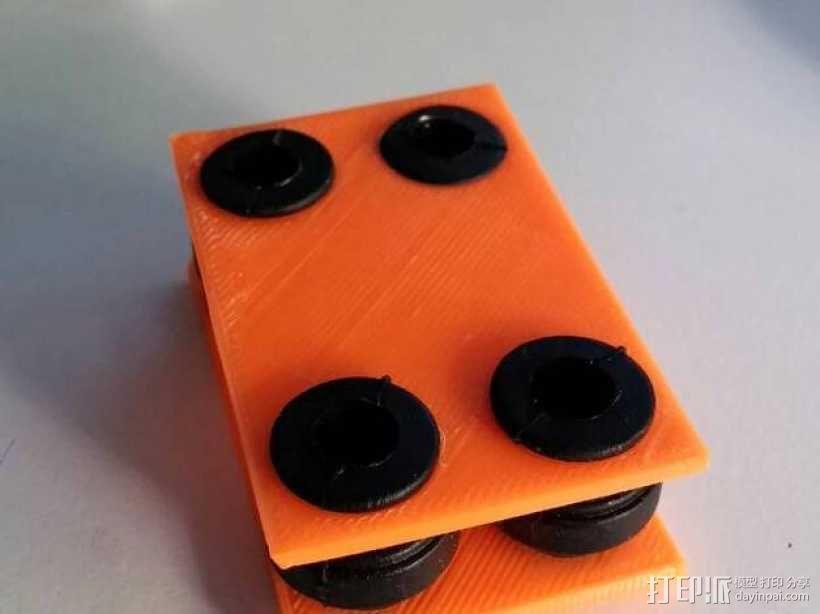 减震器 3D模型  图1