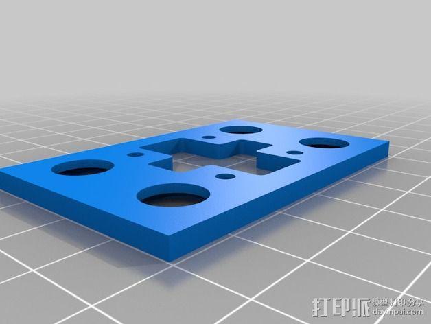 减震器 3D模型  图2