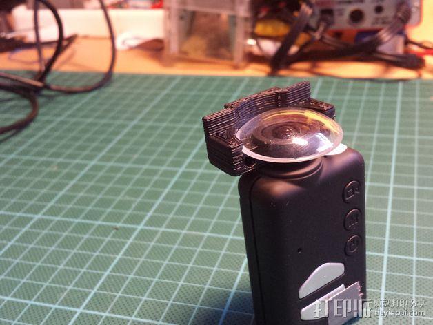 Mobius相机镜头保护架 3D模型  图4