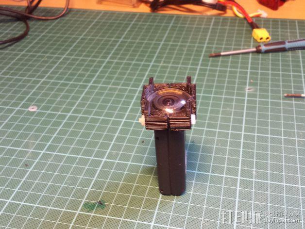 Mobius相机镜头保护架 3D模型  图5