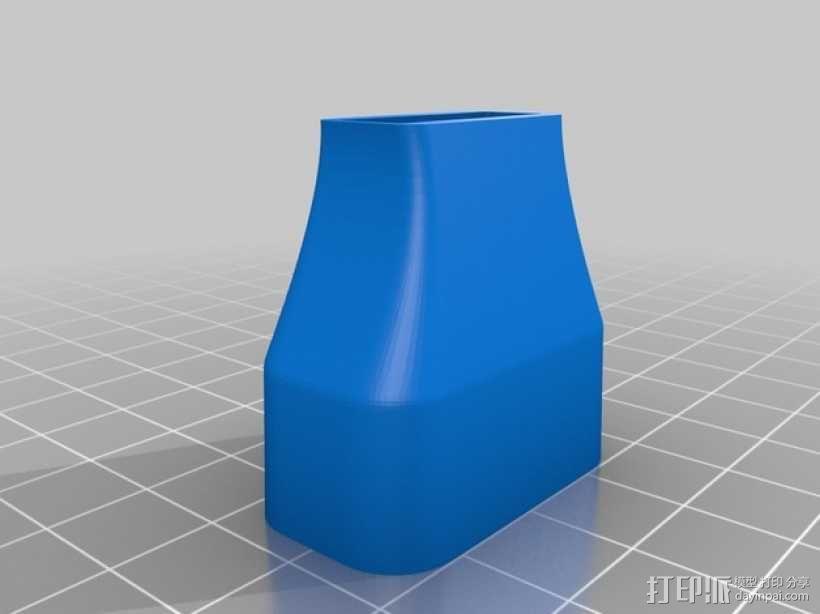 口风琴 吹嘴 3D模型  图4