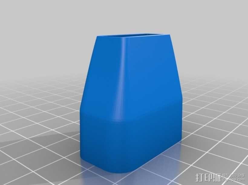 口风琴 吹嘴 3D模型  图3