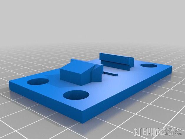 GoPro相机支架 3D模型  图2