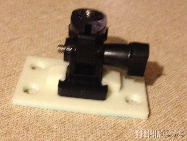 GoPro相机支架 3D模型  图3
