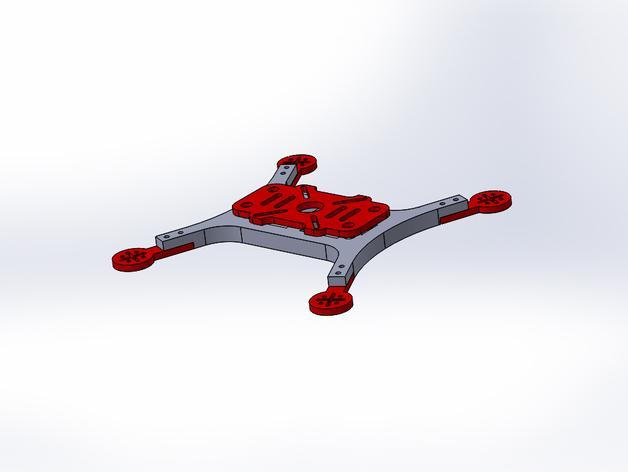 Mini 180飞行器 3D模型  图3