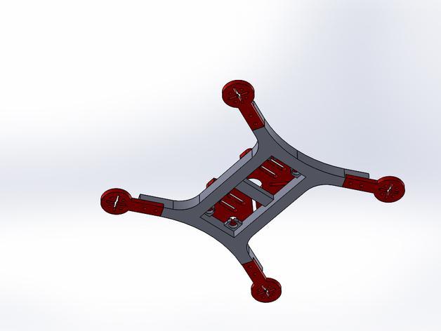Mini 180飞行器 3D模型  图4