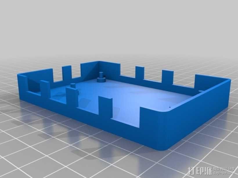 USB集线器 外壳 3D模型  图2