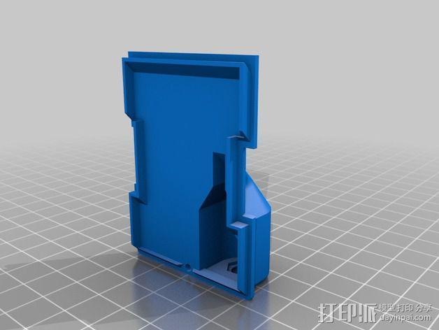 JR-DSMX发射机外壳 3D模型  图5