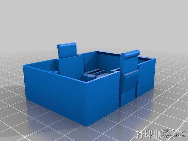 JR-DSMX发射机外壳 3D模型  图4